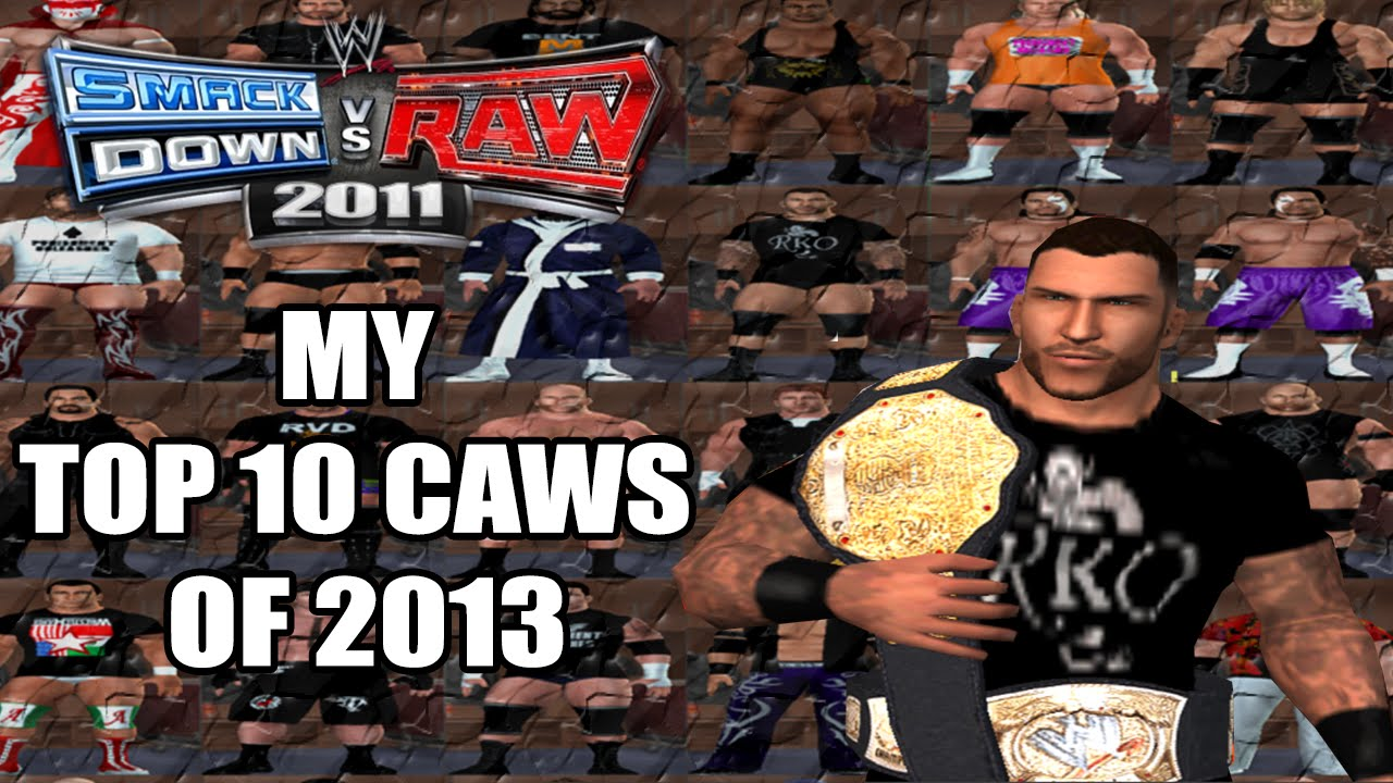 WWE SVR 11 MY TOP 10 CAWS OF 2013 PS2 - MLcaws