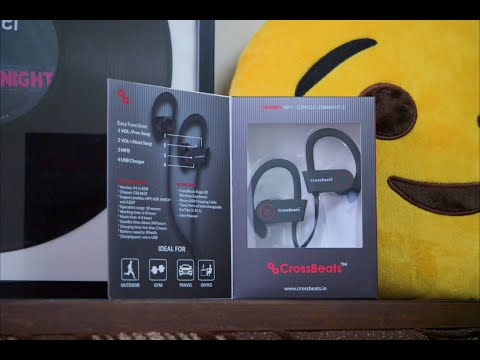 CrossBeats Raga - Bluetooth Earphones Under Rs. 2000! (Please Read Description)