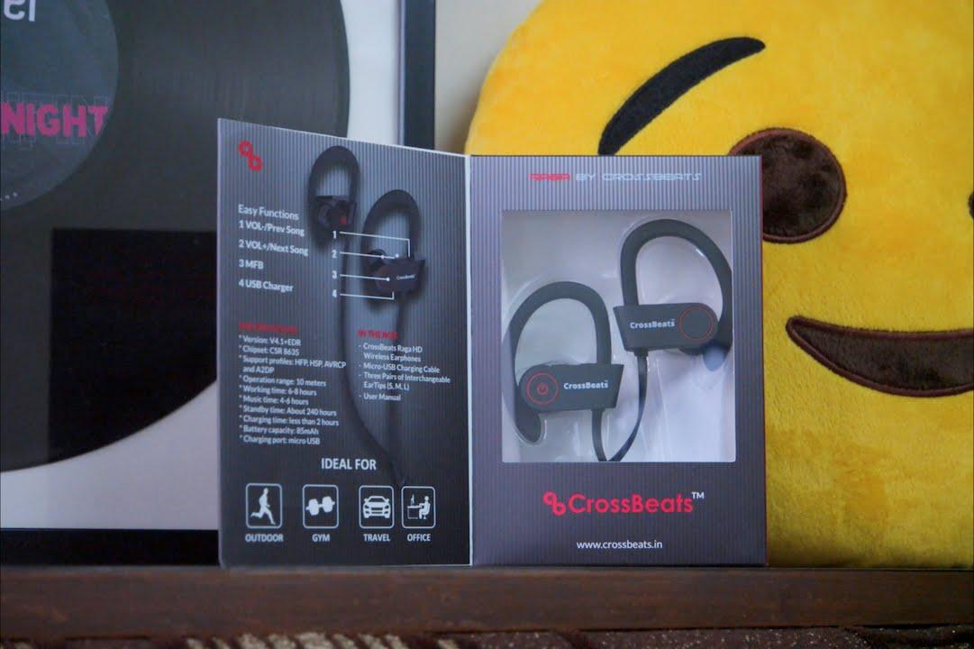 854264ab8c4 CrossBeats Raga - Bluetooth Earphones Under Rs. 2000! (Please Read  Description) - YouTube