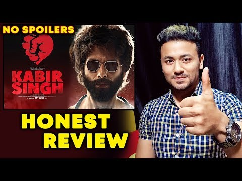 KABIR SINGH HONEST REVIEW | FULL MOVIE | Shahid Kapoor, Kiara Advani |  Arjun Reddy