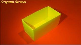 как сделать прямоугольную коробку