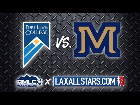 Fort Lewis vs Montana State - Rocky Mountain Lacrosse D2 Semifinal