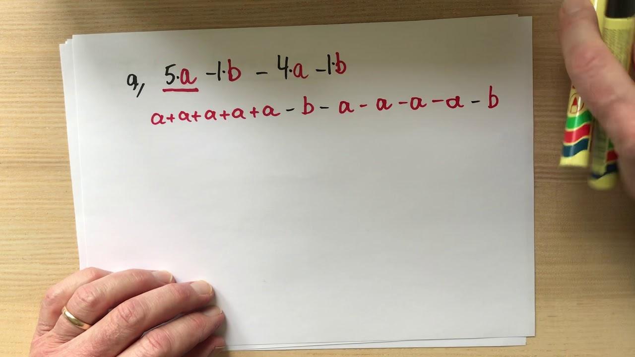 Tal og bogstaver / Algebra