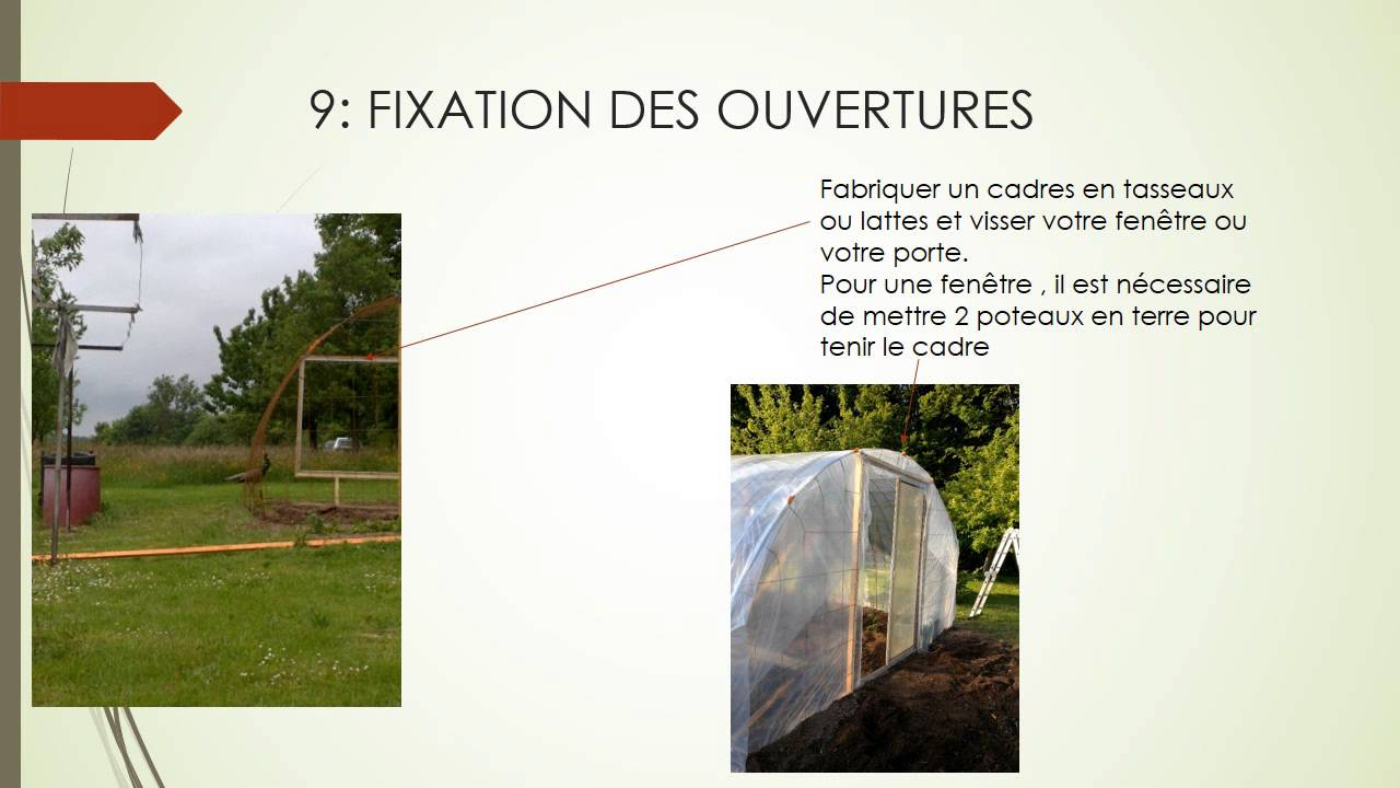 fabrication d une serre en treillis souder building greenhouse permaculture jardins cultiver. Black Bedroom Furniture Sets. Home Design Ideas