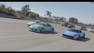 Ferrari 458 Italia with Armytrix Exhaust and LB Fleet, Cal Euro Road Trip - Dionne Mascunana Film