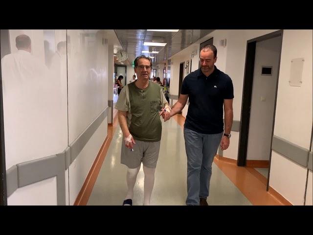 Αρθροπλαστική γόνατος  - Αυτόνομη βάδιση σε λιγότερο από 24 ώρες!