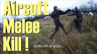 Airsoft Melee Kill | Blade Of Grass Kill...