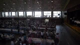 豊橋東高校校歌斉唱(平成29年度ひがし会総会)2017521