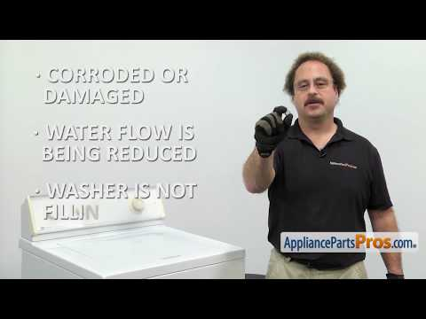 Washer Inlet Valve Screen (Part #WP96160) - How To Replace