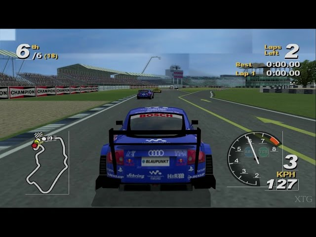 Total Immersion Racing PS2 Gameplay HD (PCSX2)