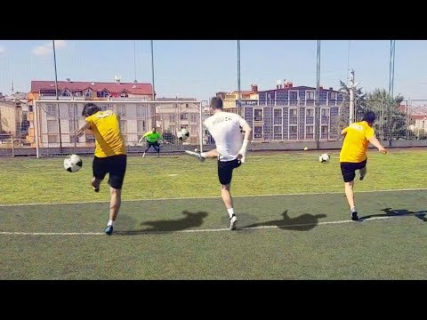 Ceza yayından şaşırtmacalı şut atma yarışması 2 | Şutbol TV