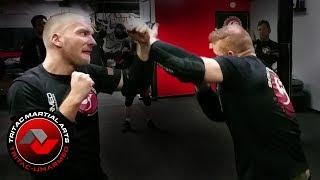 TRITAC-Unarmed: Elbow Clear Flow: Self-Defense Techniques