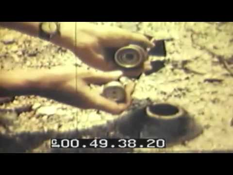 WW2 Disarming Japanese Bombs & Mines, Guam, 1944-07-02 (full)