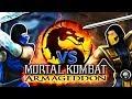 Scorpion And Sub-zero Play MORTAL KOMBAT Armageddon!   Real MK PARODY!
