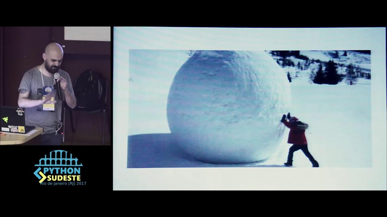 Image from Palestra: Luciano Ratamero - Como usar Django nos tempos de Angular e React