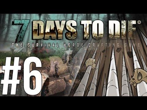 7 Days to Die - กับดักและเหมืองใต้ดิน! - Alpha - (6) Co-op w/Malternative