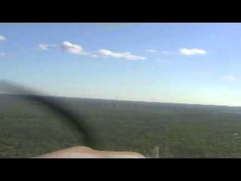 Piper Lance Landing at YMKA Mataranka Homestead, NT, Australia