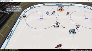 Xenia Xbox 360 Emulator - NHL 2K6 ingame! (4260e38 May 15 2017)