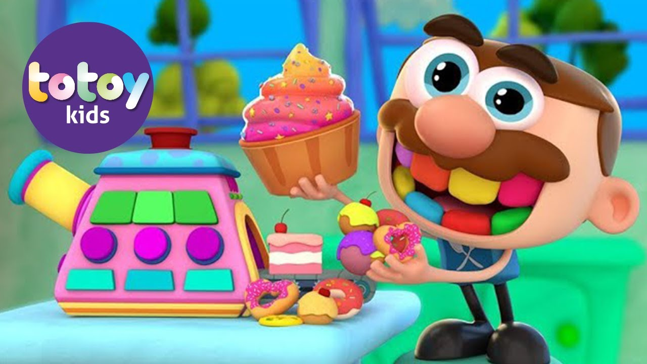 Stories for kids Jose Comelon Learning soft skills in The Fruit Candy Machine Story!!! Totoykids