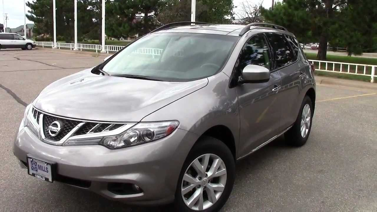 2011 nissan murano sv awd youtube. Black Bedroom Furniture Sets. Home Design Ideas