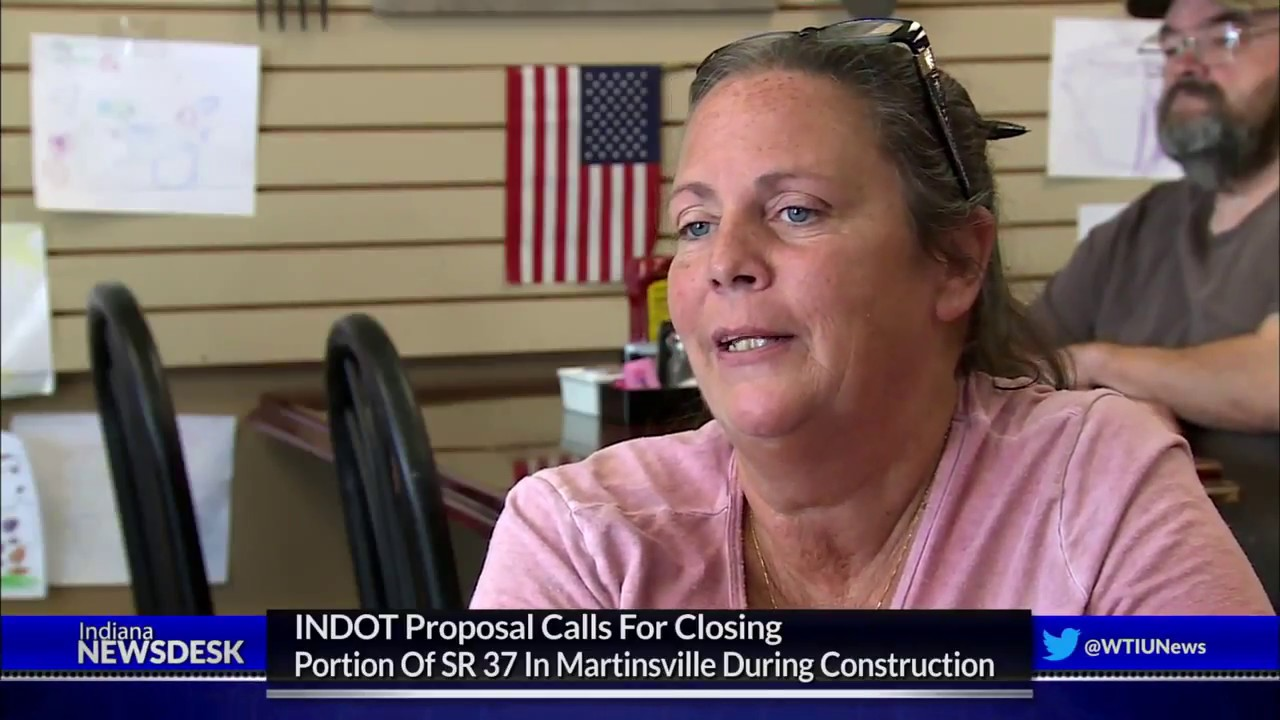INDOT Proposal Calls For Closing Portion Of SR 37 In