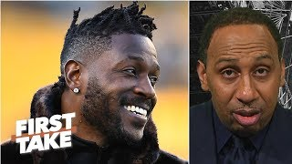 Antonio Brown could start 2019 season with Steelers despite trade demand - Stephen A. | First Take