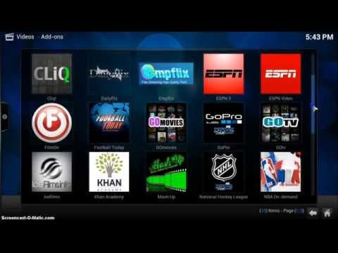 Introduction to ARCstream Box and XBMC - KODI software - UPDATED 2014
