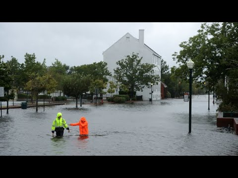 Florence leaves catastrophic flooding in North Carolina