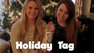 Holiday Tag with my Sister! Thumbnail