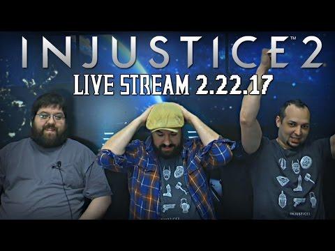 Injustice 2 - Full Watchtower Live Stream 2.22.17