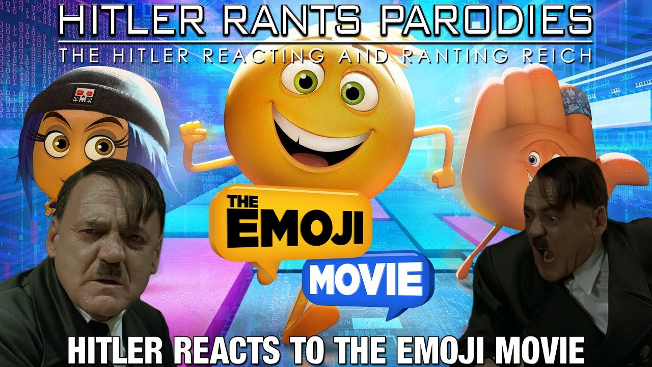 Hitler reacts to THE EMOJI MOVIE