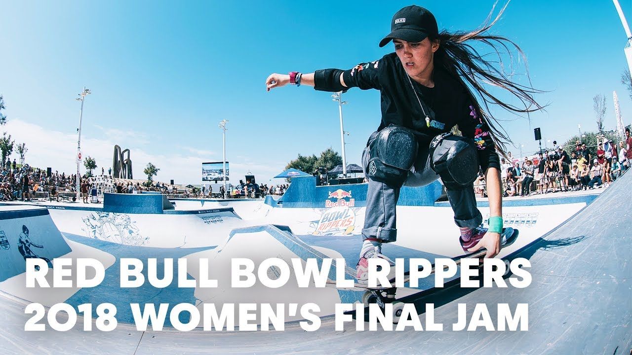 Women's Final Skate Jam Session at Red Bull Bowl Rippers 2018