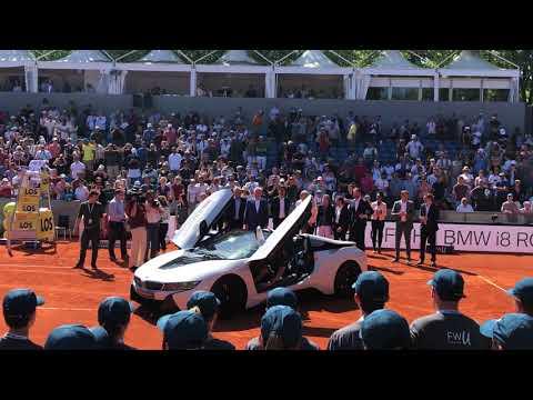 #inlovewithtennis - BMW Open 2018 - Alexander Zverev im BMW i8 Roadster