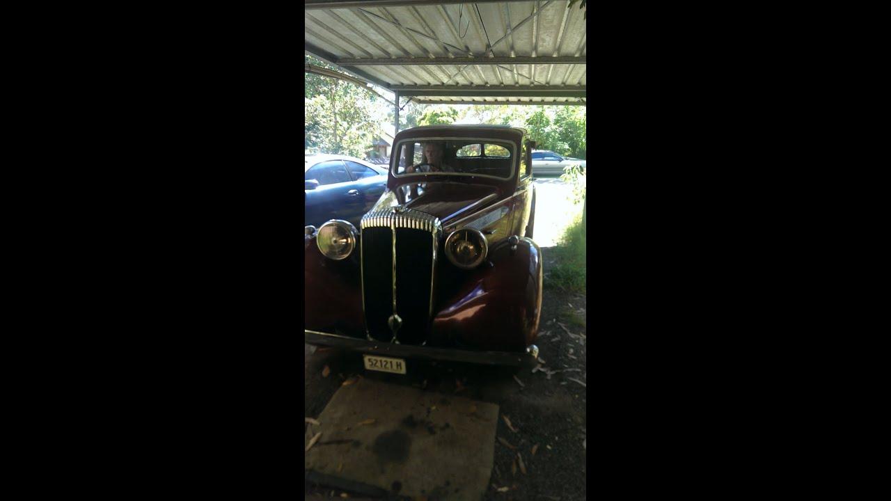 1938 Daimler Driving in Glenbrook NSW - YouTube