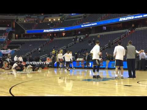 Michigan arrives at Verizon Center for Big Ten Tournament