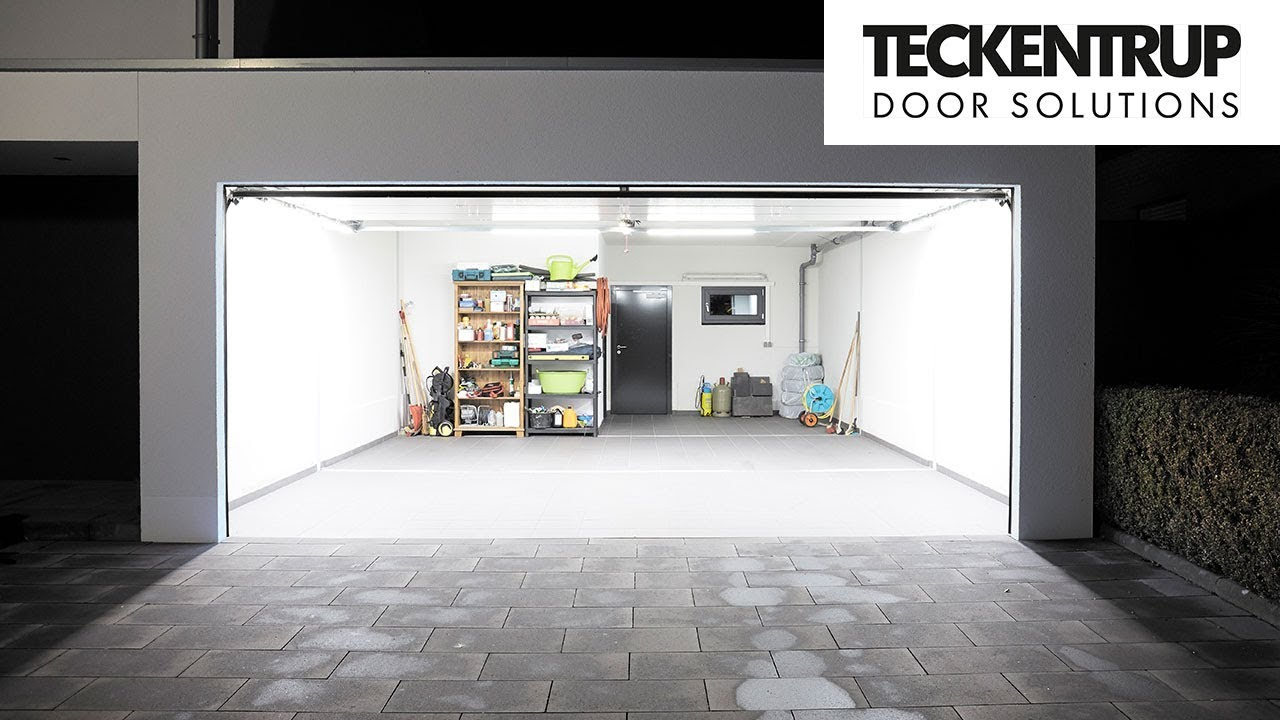 Teckentrup LED Garagenbeleuchtung - LED it shine. - YouTube