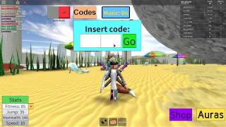 NEW CODES ON ROBLOX Weight Champion