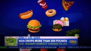 Ходьба помогла мужчине похудеть на 150 килограммов