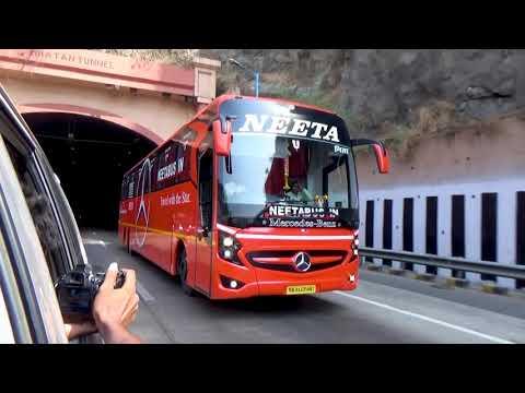 Chasing Neeta Mercedes 15M SHD On Pune Mumbai Express Highway!!!!!