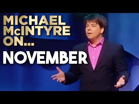 It's November! | Michael McIntyre