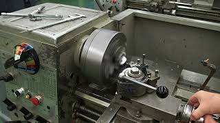 Machining a Cube on a Lathe