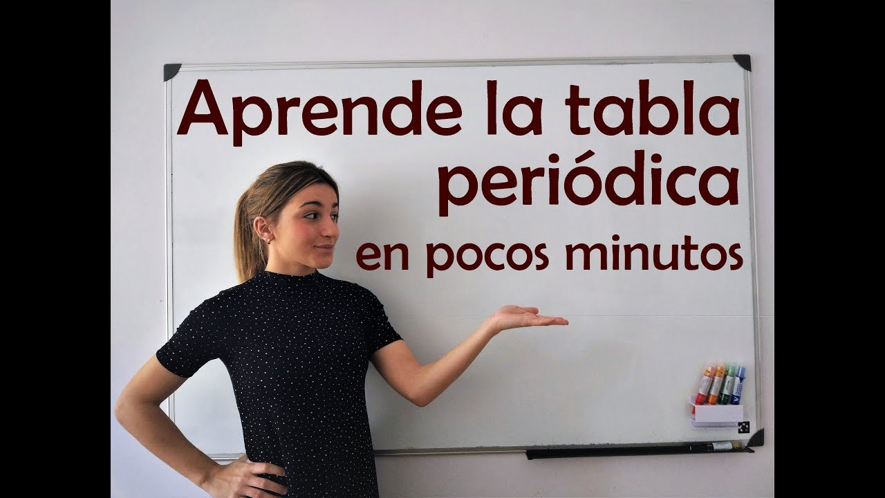 Qumica aprende la tabla peridica en 7 minutos youtube aprende la tabla peridica en 7 minutos urtaz Image collections