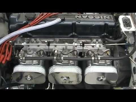 L28 Datsun L28 Solex Engine Sound