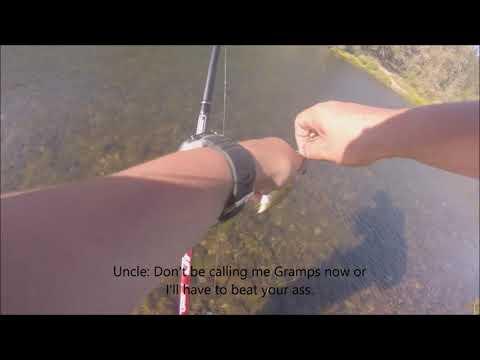 Fishing For Smallmouth Bass On The Umpqua River Near Elkton Oregon