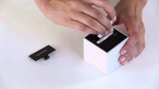 Mini Clap on Wood Alarm Clock