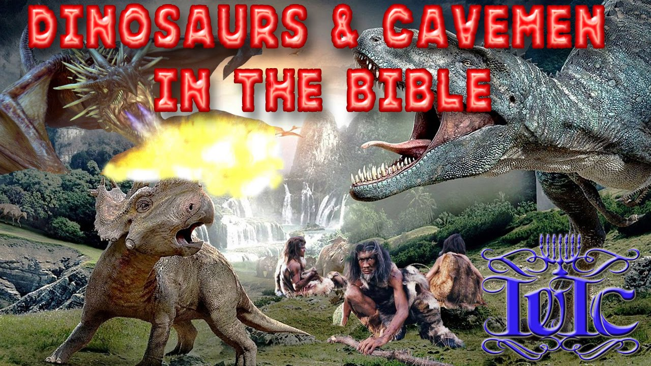Caveman And Dinosaurs : The israelites truth be told dc dinosaurs cavemen in bible