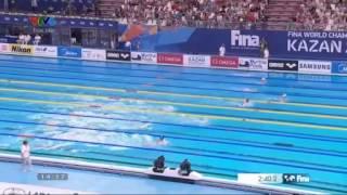 Bơi như tên lửa, Ánh Viên hạ đo ván kỷ lục gia TG người Trung Quốc