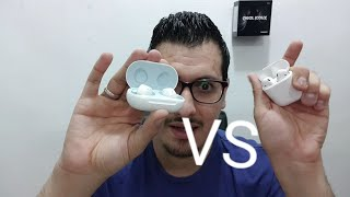 مقارنه Samsung Galaxy Buds VS Airpods