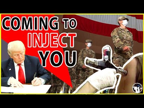 Trump Is Sending In The Military To Inject You