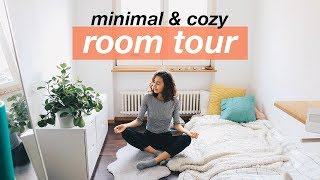 Room Tour 2017 🌝  | minimal & tatami bed